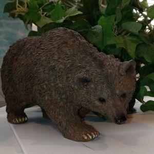 "Brown bear figurine 3""x7"""